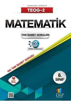 Ekip Yayınları Teog 2 Matematik Tam İsabet Soruları