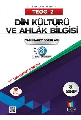 Ekip Yayınları Teog 2 Din Kültürü Ve Ahlak Bilgisi Tam İsabet Soruları