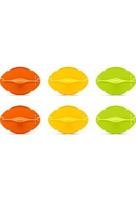 Dreamfarm Savel Meyve Sebze Koruyucu - Karışık Turunçgil Renkleri