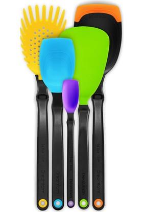 Dreamfarm Dreamfarm En İyiler Mutfak Kaşık Seti - Karışık Renkler