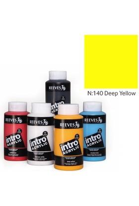 Reeves İntro Akrilik Boya 500Ml - Deep Yellow