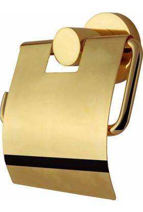 Bauboss Vega Altın Tuvalet Kağıtlığı Pirinç