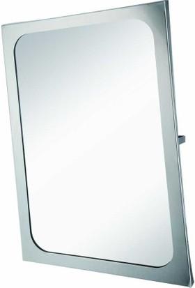 Bauboss Paslanmaz Çelik Çerçeveli Mafsallı Engelli Aynası
