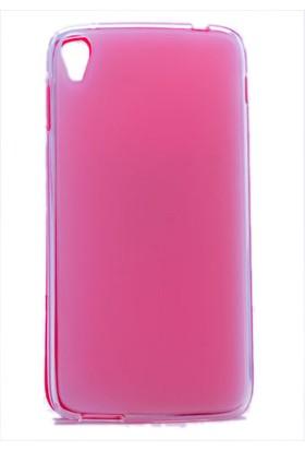 Kny Alcatal İdol 3 5.5İnc Kılıf Süper Silikon +Cam