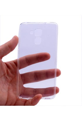 Kny Huawei Honor Gt3 Kılıf Ultra İnce Silikon +Cam