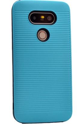 Kny Lg G5 Kılıf Youyou Ultra Korumalı Silikon +Cam