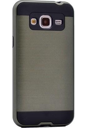 Kny Samsung Galaxy J1 2016 Kılıf Ultra Korumalı Silikon +Cam