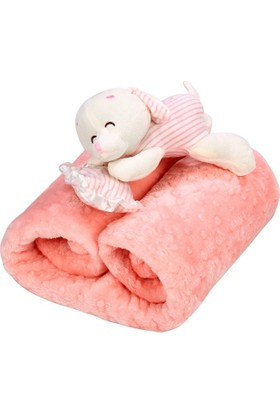 Özdilek Tomurcuk Bebek Battaniyesi Pembe
