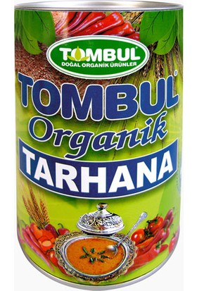 Tombul Organik Tarhana 400 gr Kutu
