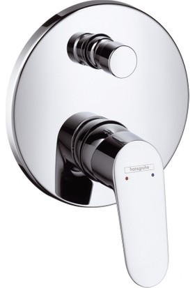 Hansgrohe Focus Tek Kollu Ankastre Banyo Bataryası Krom
