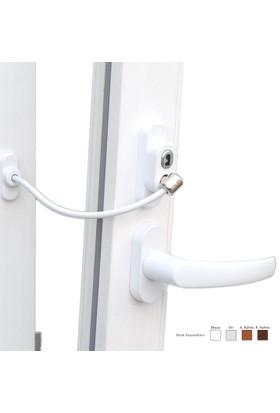 Penkid Anahtarlı Halatlı Pvc Kapı Pencere Emniyet Kilidi -50 ADET