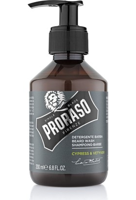 Proraso Sakal Şampuanı - Cypress Vetyver 200 ml.