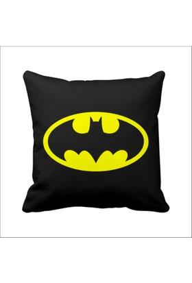 Asr Batman Retro Justice League Saten Yastık