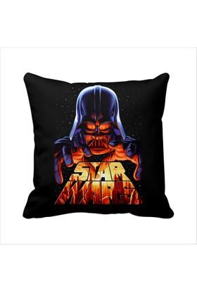 Asr Darth Vader 8 Star Wars Saten Yastık