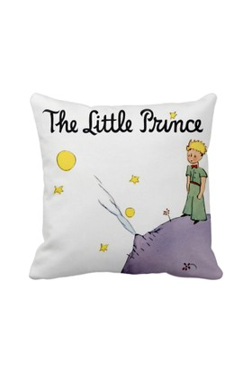 Asr The Litlle Prince Küçük Prens Kitap Saten Yastık
