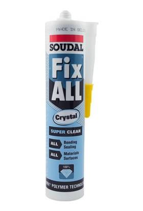 Soudal Fix All Crystal 290 Ml