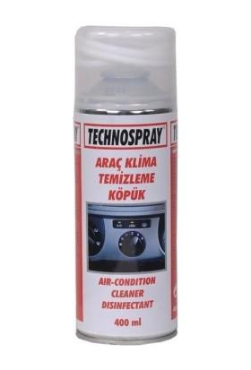 Technospray Araç Klima Temizleme Köpük 400 Ml
