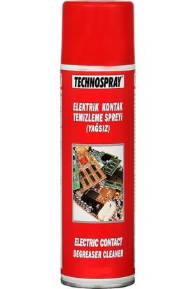 Technospray Elektrik Kontak Temizleme Spreyi Yağsız 400 Ml