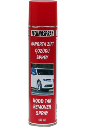 Technospray Kaporta Zift Çözücü Sprey 400 Ml