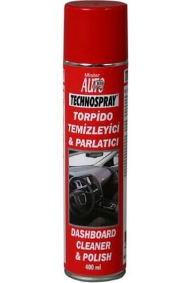 Technospray Torpido Temizleyici & Parlatıcı 400 Ml