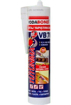Vodabond Montaj Yapıştırıcı Anında Tutunma Vb78 370 Gr