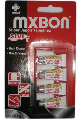 Mxbon Japon Yapıştırıcı 4X1 Gr