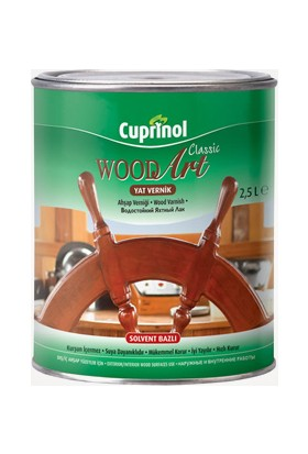 Cuprınol Wood Art Classic Yat Vernik 2,5 Lt.