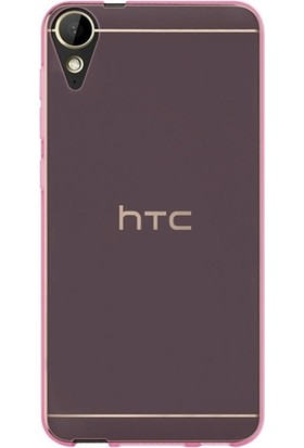 KılıfShop HTC Desire 10 Lifestyle Silikon 0.2mm Kılıf