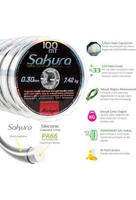 Sakura Silikon Kaplama Copolymer Misina 100m - 0,10mm