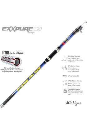 Michigan Exxpure 150-250G 390 cm Im8 Karbon Surf Kamış