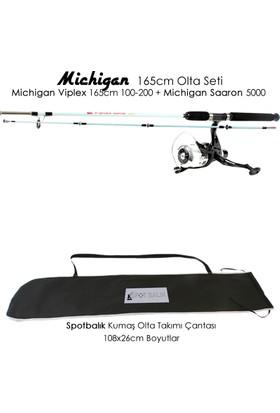 Michigan Viplex 165 cm Saaron 5000 Tekne Olta Seti Takımı