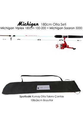 Michigan Viplex 180 cm Saaron 5000 Tekne Olta Seti Takımı