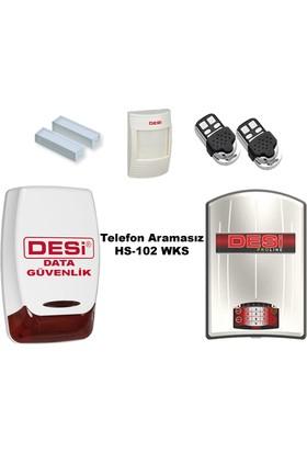 Desi Hs-102 Proline Alarm Sistemi Telefon Aramasız! 100% Türk Malı - Data Güvenlik