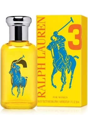 Ralph Lauren Big Pony Yellow Edt 50Ml Bayan Parfümü
