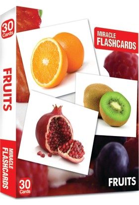 Miracle Flashcards: Fruit Box 30 Cards