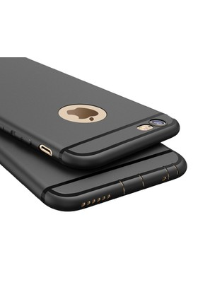 Kkd Apple iPhone 7 Kılıf Silikon Ultra İnce 360 Tam Koruma