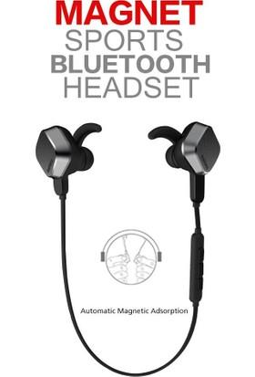 Kkd Remax Rm-S2 Sports Magnet Bluetooth Kulaklık Müzik Dinleme Remax Lisanslı