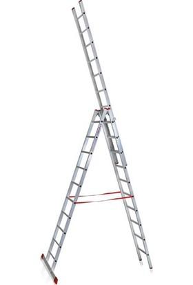 CÖMERT Merdiven A Tip Tek Sürgü 4 Mt (Atsm.05) (4*3+1=13 Mt)
