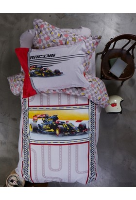 Karaca Home Racing Kırmızı Genç Soft İspanyol Battaniye
