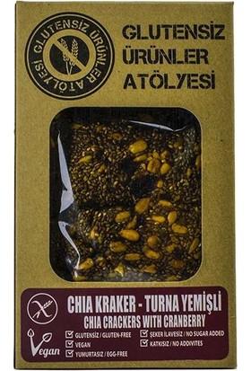 Bio Store Glutensiz Ürünler - Chia Kraker - Turna Yemişli - 100 G