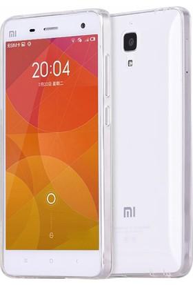 Microsonic Xiaomi Mi 4 Kılıf Transparent Soft Beyaz