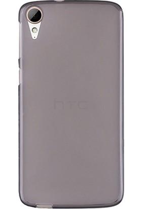 CaseUp HTC Desire 830 Kılıf, CaseUp İnce Şeffaf Silikon + Cam