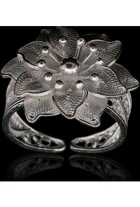 Akyüz Gümüş Telkari Gümüş Yüzük Yt002