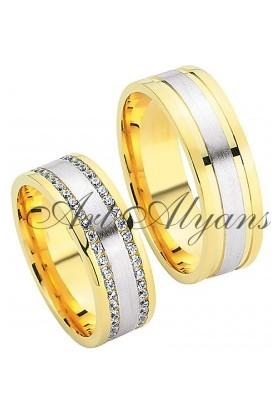 ArtAlyans Altın Hafif Alyans ART42-7022