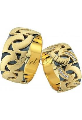 ArtAlyans Altın Elişi Alyans ART42-3559