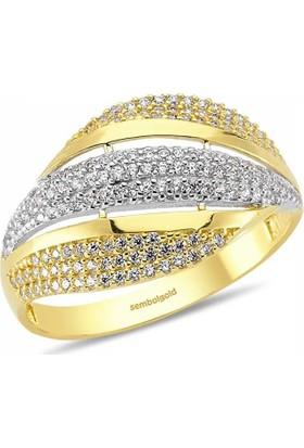 Assos 14 Ayar Altın Fanztezi Yüzük Modeli SG42-0165733