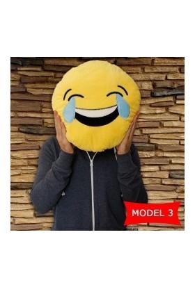 Hediye Paketim Gülen Surat Emoji Yastık