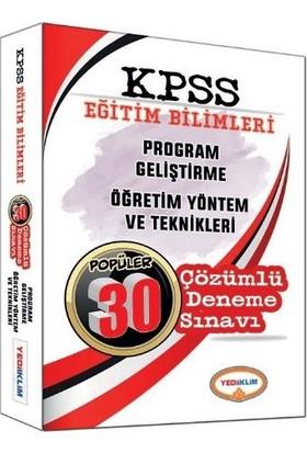 Yediiklim Yayınları Kpss 2017 Program Geliştirme Öğretim Yöntem Ve Tek. Çözümlü Deneme Sınavı