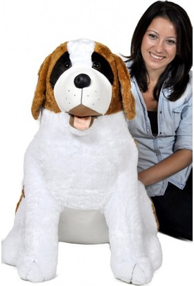 Zoziko Peluş Senbernant Köpek 90 cm