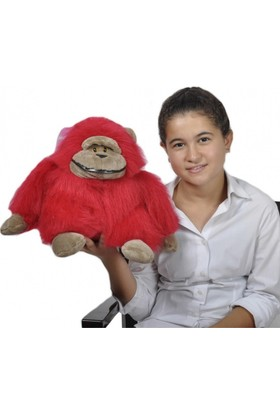 Zoziko Peluş Goril 30 cm Kırmızı